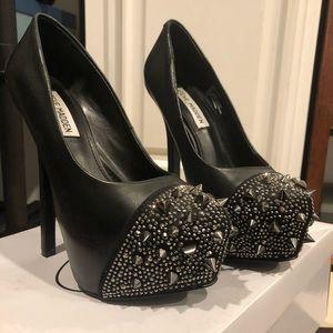 Steve Madden platform jewel spike heels 36